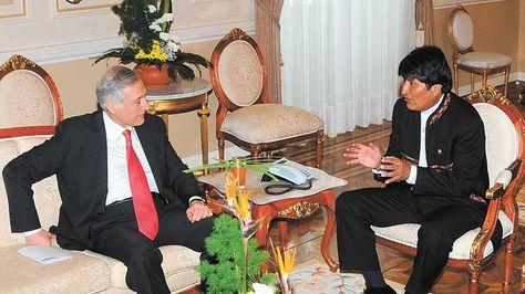 Reunión con Evo Morales