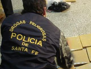 drogas policia santa fe