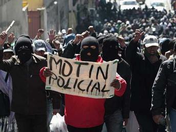 motín policial -reuters
