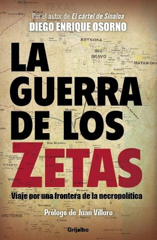 Portada La guerra de los Zetas