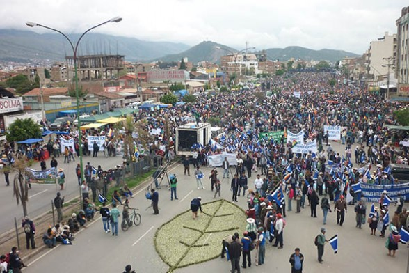 bolivia marcha