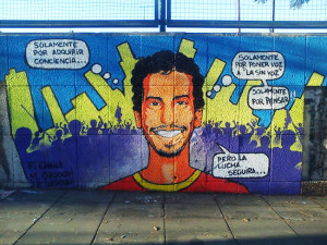 Mariano Ferreyra mural