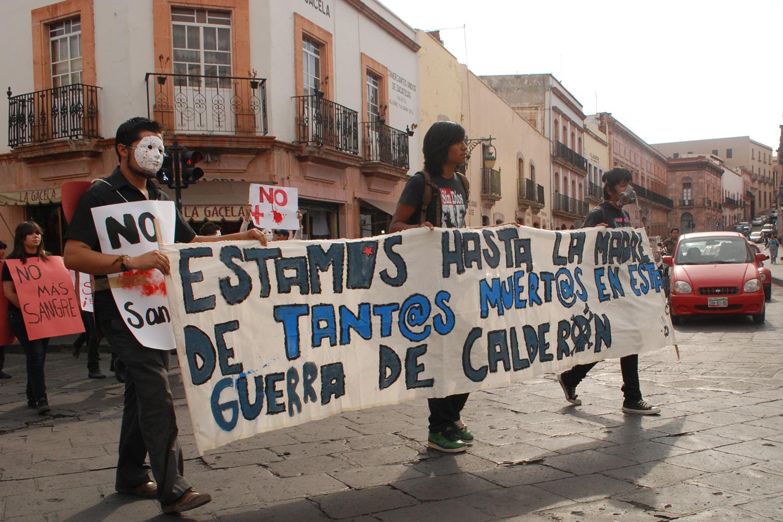 Protesta en Zacatecas