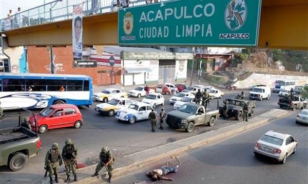 Acapulco ciudad violenta