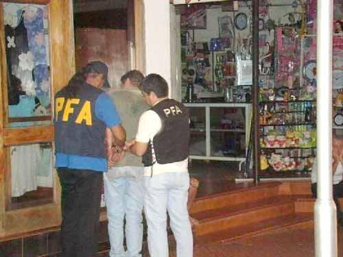 detienen a narco polaco en Misiones
