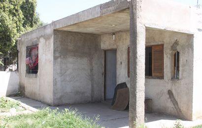 La casa donde estuvo secuestrada