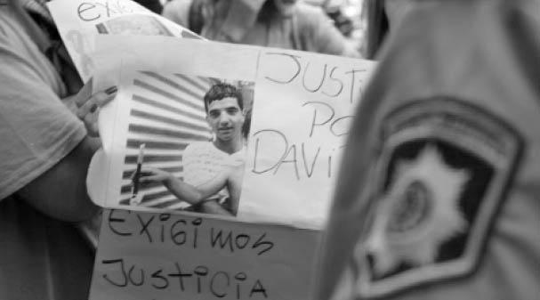 David Moreyra linchado en Rosario