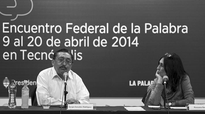 Gonzalez y Reguillo en Encuentro Federal de la Palabra
