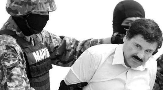 Capos narcos atrapados en México