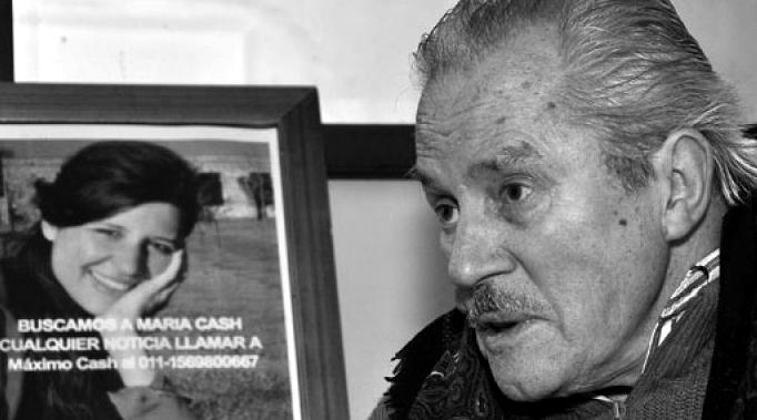 Federico Cash buscaba a su hija y murió en la ruta