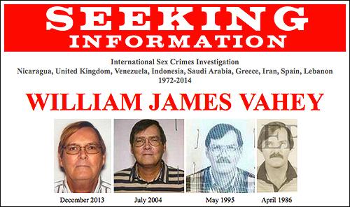 FBI busca a violador serial de América Latina