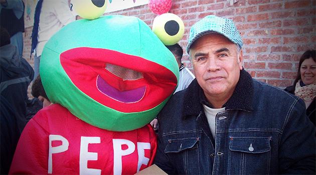 Valor con el Sapo Pepe