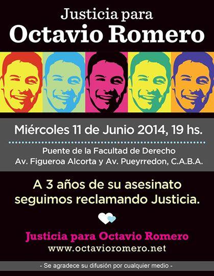 Justicia para Octavio Romero
