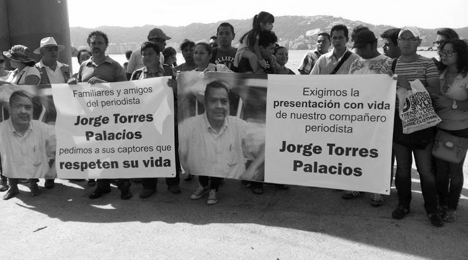 donde está Jorge Torres Palacios