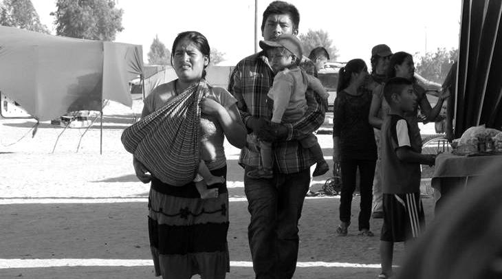 Jornaleros esclavos en Baja California, México