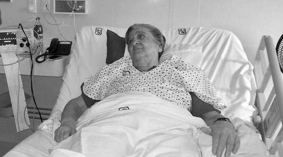 mama rosa en el hospital