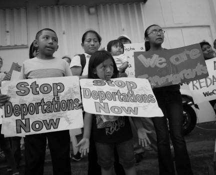 niños deportados