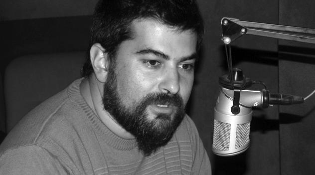 Dante Leguizamón, periodista amenazado por el jefe de policía
