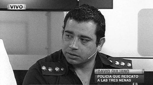 David Quijano, el policía héroe