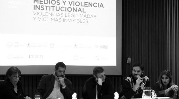 Seminario violencia institucional
