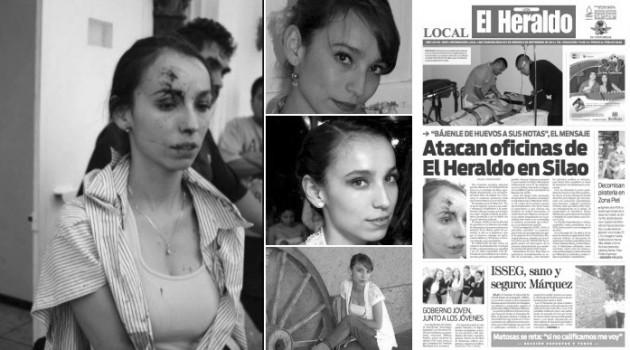 Periodista de El heraldo agredida 1