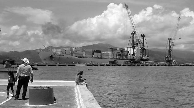 Jackson es un indígente que llegó a Puerto Barrios en busca de trabajo.