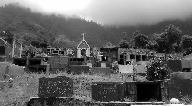En el cementerio de Sibinal, en San Marcos, hay espacio para 10 años