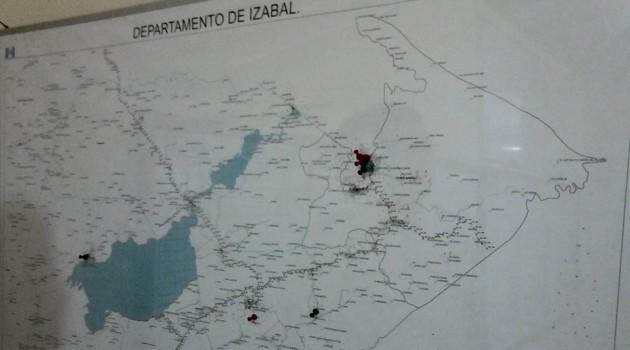Pie de foto - Los hechos violentos son mayores en Puerto Barrios