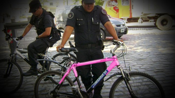 bici rosa minuto uno