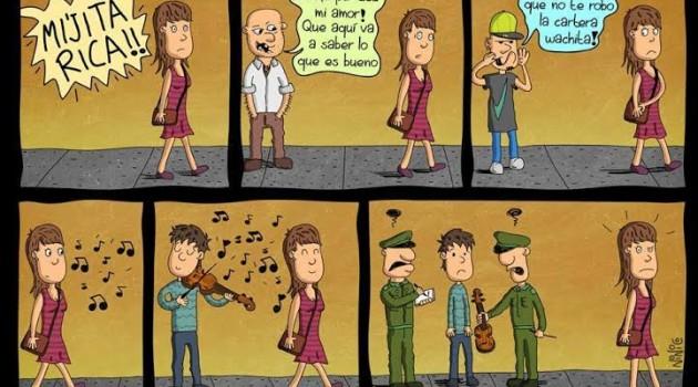 tira acoso callejero chile
