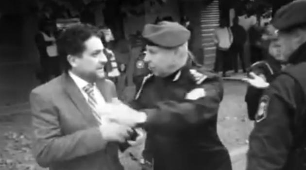 Juez Arias policia