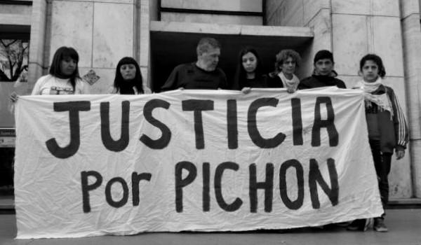 justicia por pichon - via rosario
