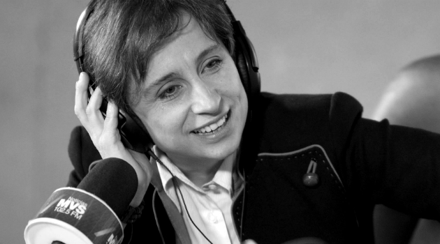 Los periodistas latinoamericanos apoyan la demanda de Carmen Aristegui contra el Estado mexicano
