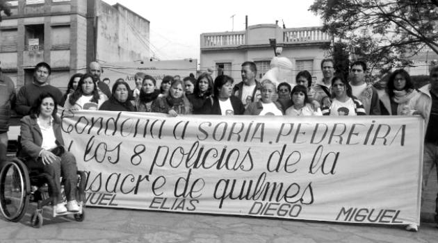 Condena masacre de quilmes