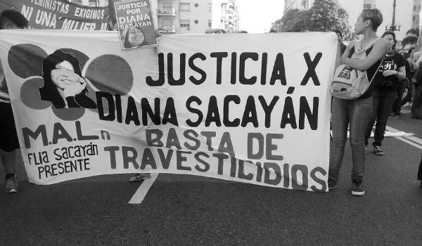 justicia por diana sacayan