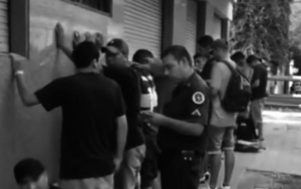 policía detención