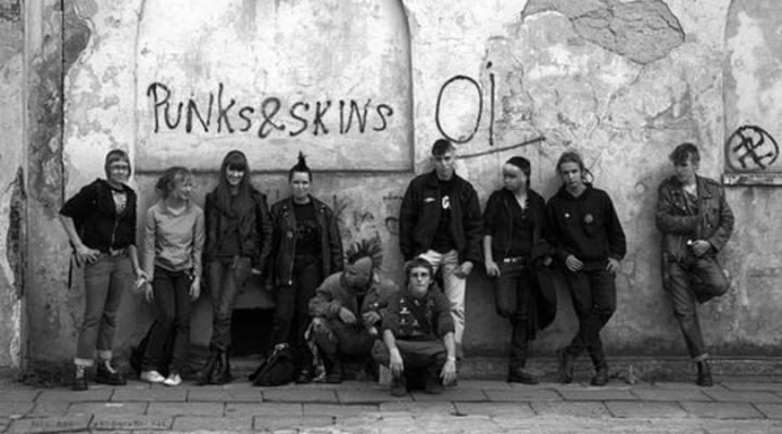 skin vs punks