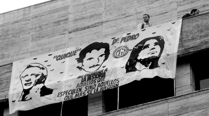 bandera judiciales - Gustavo Pantano