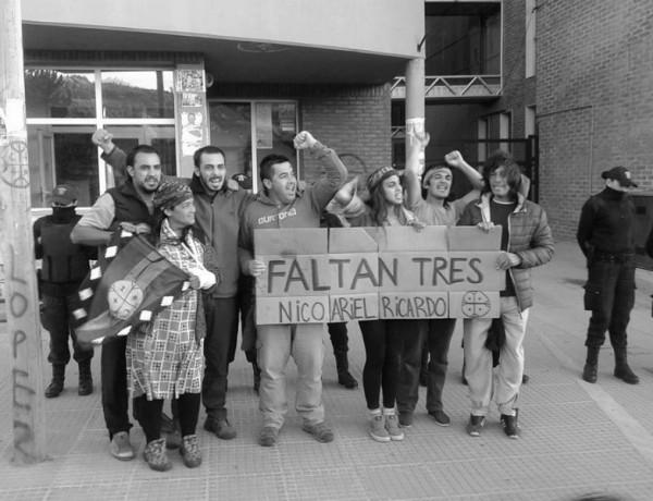 liberados mapuches