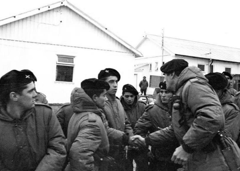 Soldados Malvinas