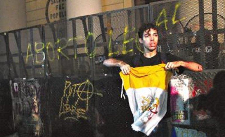 Ignacio Montagut en el #8M