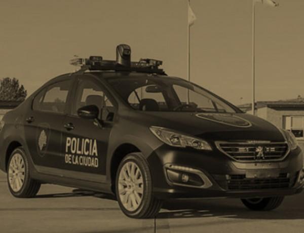 policia de la ciudad color