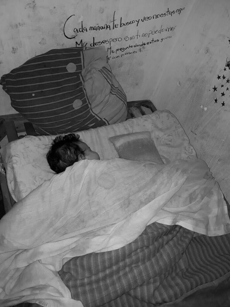 Bebé en la cárcel de Mendoza