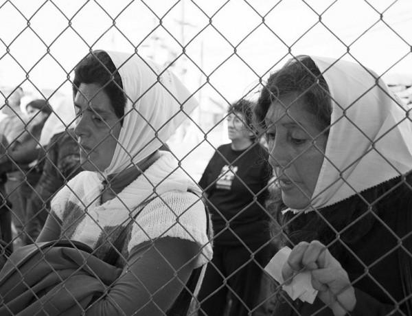 """Tucumán, Argentina. Septiembre 20/2013. En el marco del juicio por lesa humanidad, """"Jefatura II - Arsenales"""", se realiza una inspección ocular en el ex CCD """"Pozo de Vargas""""."""