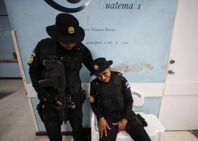 tiroteo hospital Guatemala