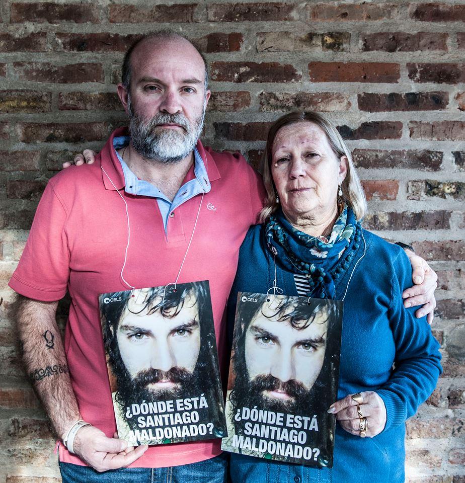 Sergio Maldonado y mamá