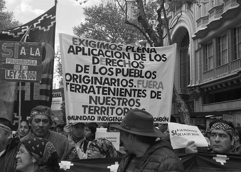 pueblos origniarios marchan 4