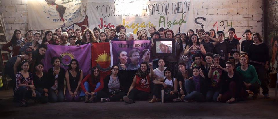 Comité de mujeres en solidaridad con kurdistán