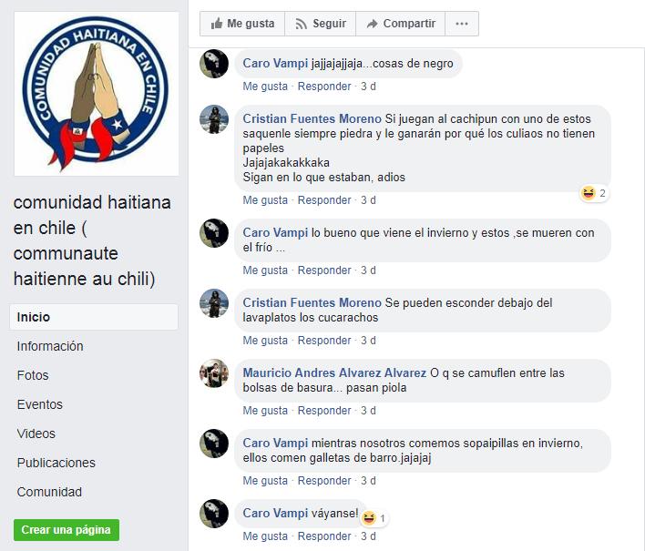 comunidad haitiana en chile