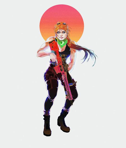 Sarah Connor por Rocío Celeste Eguía